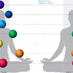 Comparer les chakras